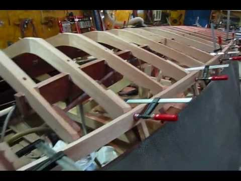Cutting Keel Landings into Bottom Frames (Part 1) (Preview) Wooden Boat Restoration