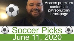 ⚽️ Free Soccer Picks (6-11-20) Spain La Liga & Portugal Primeira Football Predictions & Betting Odds