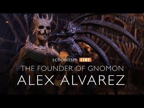 The Founder of Gnomon, Alex Alvarez