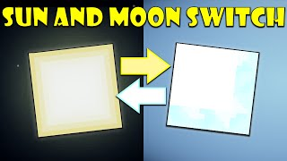If The Sun and Moon Switched Places In Minecraft