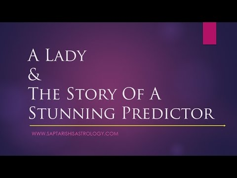 A Lady & The Story Of A The Stunning Predictor   Business Remedy