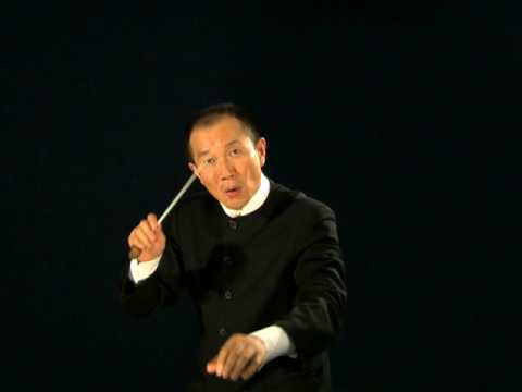 Tan Dun Personal Conductor Video - Full Orchestra