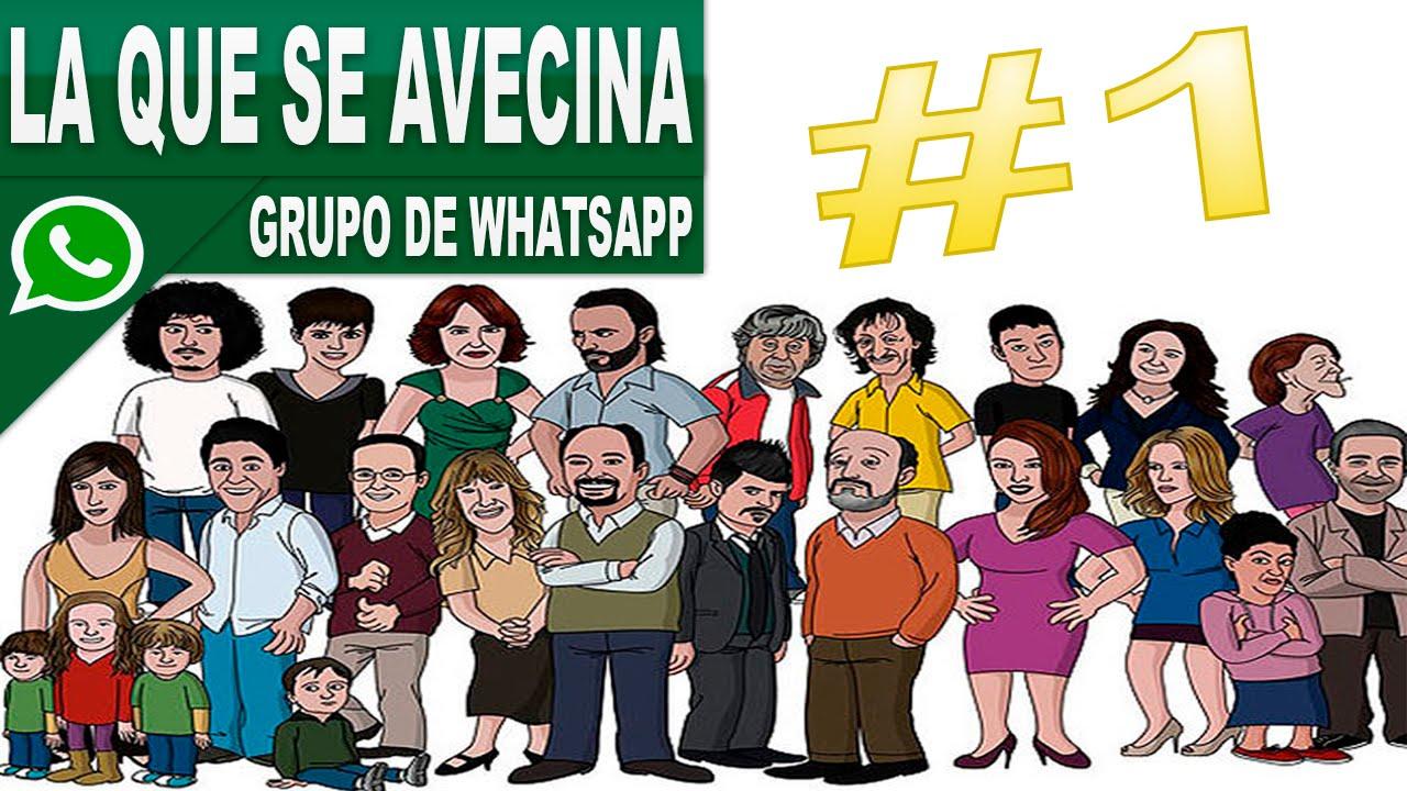 Grupo De Whatsapp: La Que Se Avecina🏢