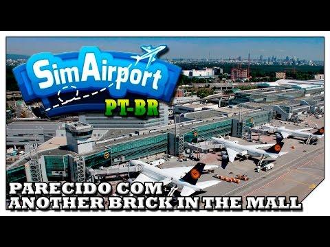 Faça Aeroportos no estilo de Prison Architect! (VAMOS TESTAR) Sim Airport [Gameplay Português PT-BR]