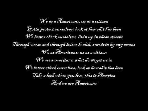 Eminem-We As Americans lyrics