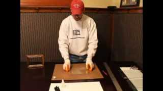 Cutting Picture Frame Glass By Hand
