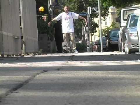 Skating in Hollywood with Miguel Parrilla