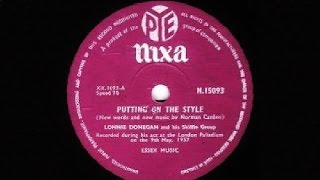 Lonnie Donegan Skiffle Group -- Putting On The Style