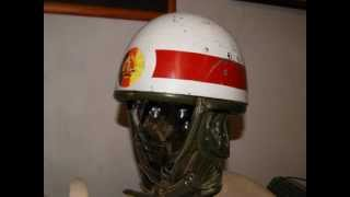 DDR NVA Stahlhelm Regulierer MZ TS 250 A Falschirmspringer Helmet Steel East Germany