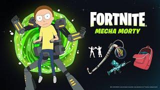 Mecha Morty Joins Rick Sanchez in Fortnite