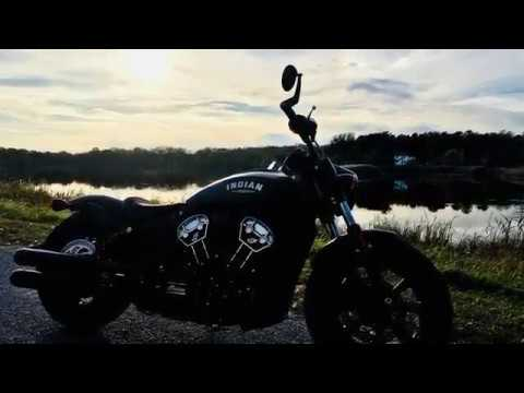 2018 Indian Scout Bobber NEW CORBIN SEAT Review
