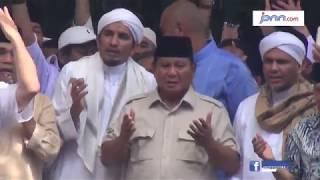 Prabowo Diberikan Nama Muslim dari Habib dan Ulama