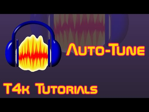How to Auto-Tune in Audacity (GSnap)   T4k Tutorials