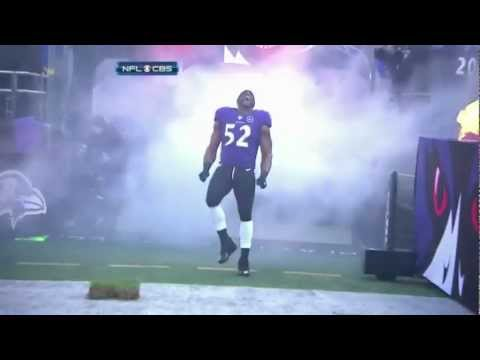 Baltimore Ravens Linebacker Ray Lewis Last Dance On Home Turf