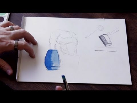 how to draw three dimensional face youtube