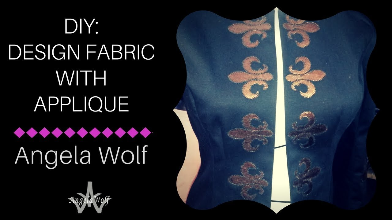 19ae31819 Learn How to Applique with Satin Fabric | Embellish & Upcycle Garments
