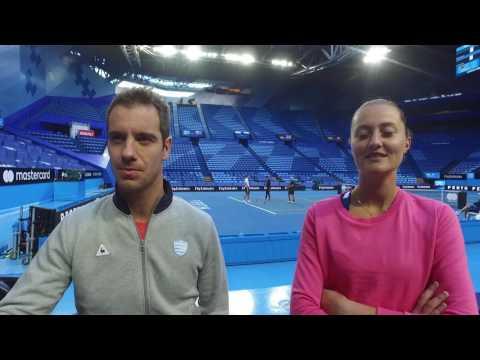 Team France Teammate Trivia - Mastercard Hopman Cup 2017