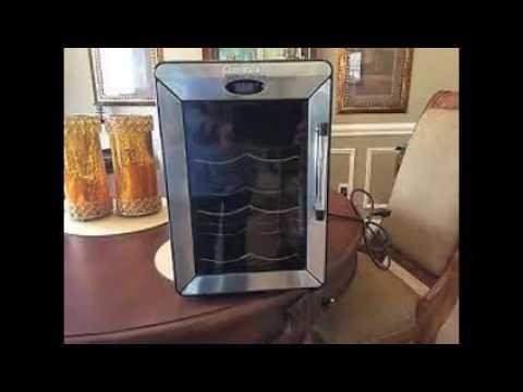 Cuisinart 6 Bottle Wine Cellar Youtube