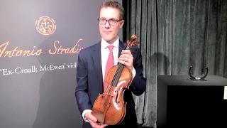 这把小提琴琴龄333年仍音韵悠扬 将于香港拍卖