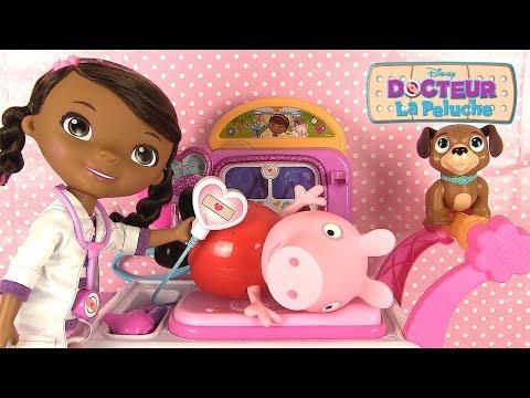 Doc la Peluche L'Hôpital des Jouets Chariot Toy Hospital Care Cart