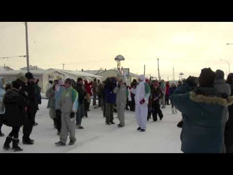 Olympic Torch Relay in Churchill, Manitoba