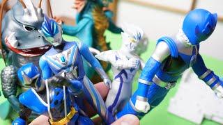 おもちゃ遊び&特撮話 ゴキドン一味vsスーパー戦隊・ウルトラマン toys japan