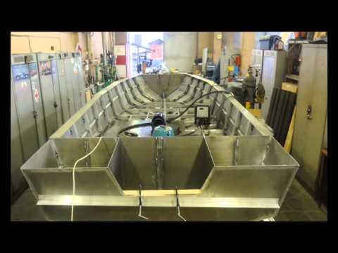 Самодельный алюминиевый катер