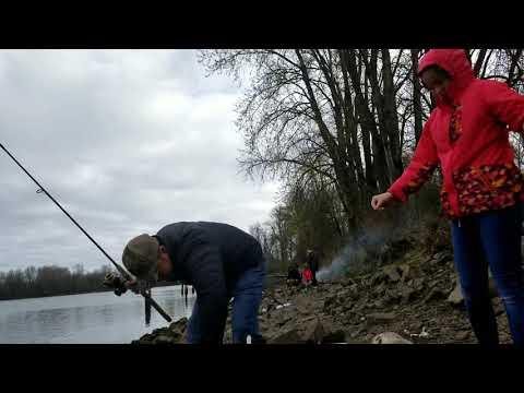 Go Fishing At Sauvie Island ទៅស្ទូចត្រី 21 March 2020