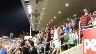 2014-04-05 パラマタスタジアム ウェスタンシドニーワンダラーズの小野コール 試合開始
