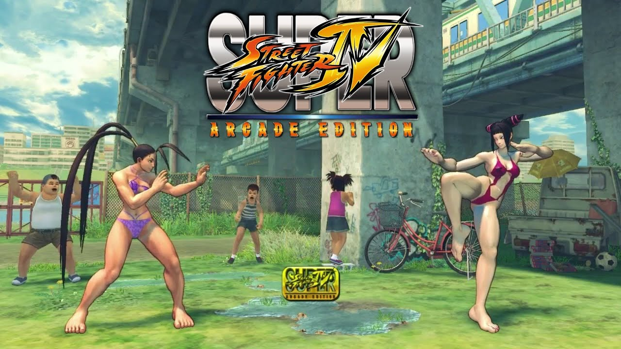 Street Fighter 4 Naked