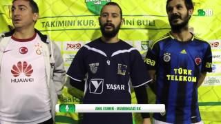 Anıl Esmer - Osmangazi SK - Röportaj / İZMİR / iddaa Rakipbul Ligi 2015 Açılış Sezonu