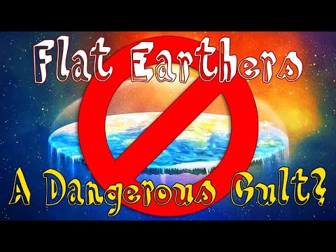 Flat Earth Debate Ends In Murder Threats From Fundamentalists ==MAKE VIRAL!!!== thumbnail