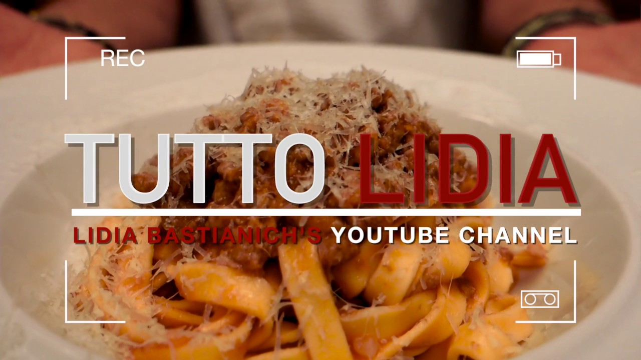 Welcome to Tutto Lidia! - YouTube