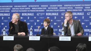 Extremely Loud And Incredibly Close | Press Conference Pt. 2 (2012) Berlinale 2012