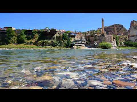 Tigris River in Hasankeyf, Turkey