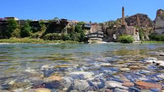 Tigris River in Hasankeyf, Turkey