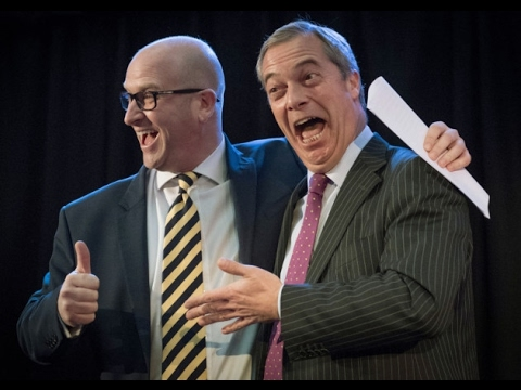 Nigel Farage and Paul Nuttall Q&A in Stoke