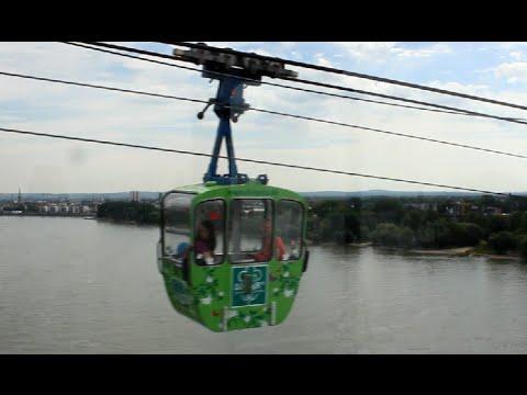 Köln Seilbahn Cologne Cable Car