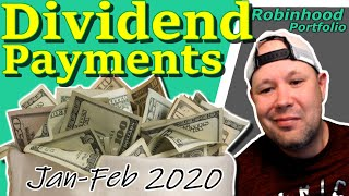 Dividend Payments for Jan-Feb 2020 | Dividend Yield Formula | Dividend Investing | Dividend Stocks
