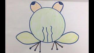 Dạy Bé Vẽ Những Con Vật Đơn Giản l Teach your children to draw simple animals l Xuu TV Kids Channel