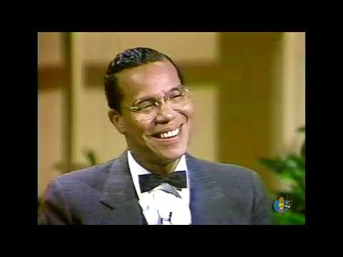 Minister Louis Farrakhan on Donahue (1985) | First Appearance