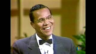 Minister louis farrakhan on donahue (1985)   first appearance