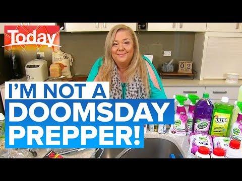 Sydney mother stockpiling virus supplies   Today Show Australia