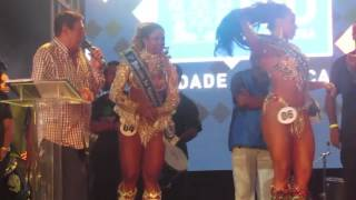 Anúncio da Rainha do Carnaval 2016 - Rio de Janeiro