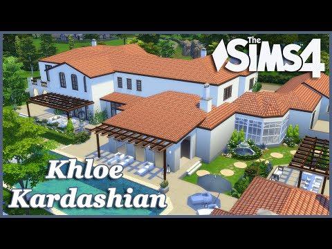 The Sims 4 - Khloe Kardashian House Build (Part 2)