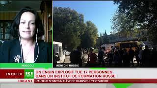 Kertch : Karine Bechet-Golovko s'exprime sur RT France