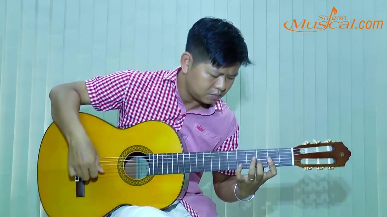 Guitar Yamaha, đàn guitar Classic yamaha C80 - YouTube