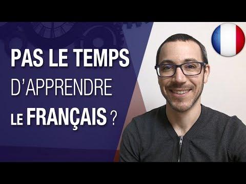 Organise-toi bien pour apprendre le français
