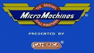Micro Machines - NES Gameplay