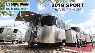Airstream 2019 Sport 16 Bambi travel trailer